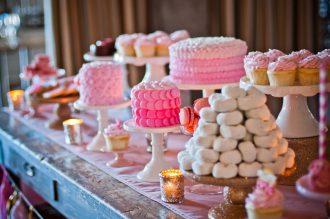mesa dulce para cenas de empresa