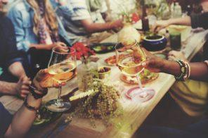 cena de empresa en verano