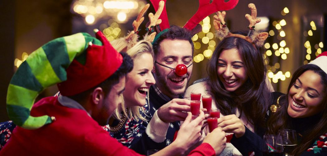 Cenas de empresa en navidad